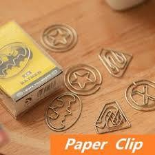 <b>5PCS</b>/LOT Stars Shape Paper <b>Clips</b> Creative Interesting Bookmark ...