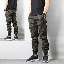 <b>2019 High Street</b> Fashion Mens Jeans Army Jogger Pants ...