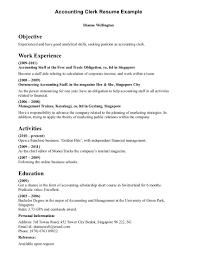 resume objective examples for administrative assistant business resume objective examples for administrative assistant resume clerical examples clerical resume examples full size