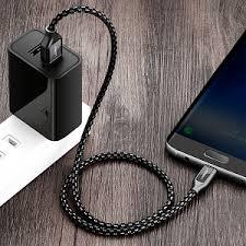 <b>Кабель Type</b>-<b>C - USB 2.0</b> для зарядки 1,5 м 5А плетеный с чехлом ...