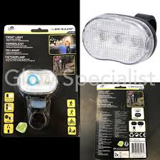 DUNLOP <b>LED BIKE</b> FRONT LIGHT - <b>3 LED</b> - Glow Specialist - Glow ...