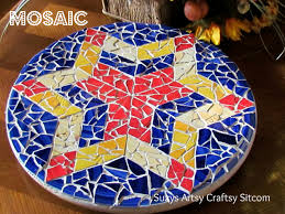 stick wall tiles quotxquot: feature friday creating mosaics the easy way mosaic diy tutorial home decorators fall home