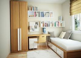 white modern study room with wooden cabinet table and chairs kbhome affordable minimalist study room design