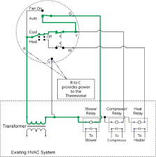 How a Thermostat Operates, Thermostatic Wiring Principles.