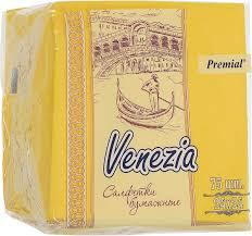 "<b>Premial Салфетки декоративные</b> однослойные ""<b>Venezia</b>"", цвет в ..."