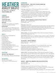 s to marketing resume marketing resume summary