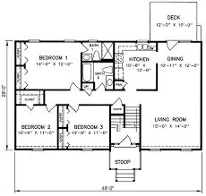 Split level house plans  s and Floor plans on Pinterest s Split Level House Plans   Split Level House Plan SD