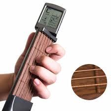 LightSmile Pocket <b>Guitar Chord Trainer</b>, Mini 6 Fret <b>Portable Guitar</b> ...