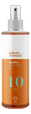 Купить <b>масло</b> для <b>интенсивного загара</b> sunfilm body <b>tan oil</b> spf10 ...