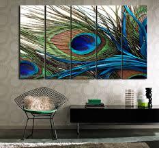 peacock decor art