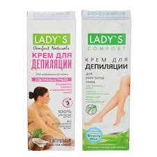 <b>Крем для депиляции LADY S</b> для всех типов кожи / для ...