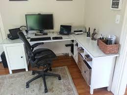 corner desk office furniture. hemnes desk minus one pedestal plus sofa table glass top office furnituredesk corner furniture k