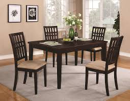 elegant square black mahogany dining table: small square black glass dining table fabulous rectangle clear