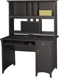 shop staples for bush salinas collection mission desk hutch aged tobacco and enjoy everyday low prices and get everything you need for a home office bush desk hutch office