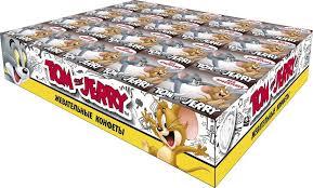 Жевательные <b>конфеты Tom and Jerry</b> Кола, 40 шт по 11,5 г ...