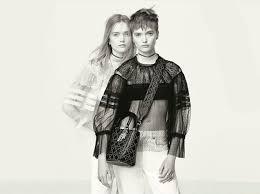 Новые девушки Dior: близнецы <b>Рут</b> и Мэй <b>Белл</b> в весенней ...