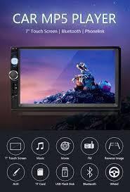 "<b>Jansite 7</b>"" <b>FHD 1080P</b> Car Radio MP5 player Digital Touch screen ..."