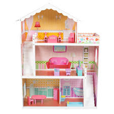 barbie doll house pink with furniture previous barbie furniture for dollhouse