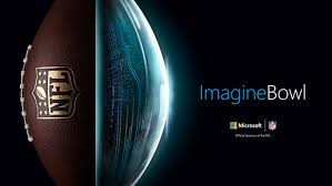 imagine the future of football and you could win and a microsoft imagine bowl image