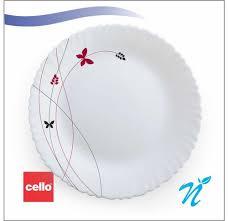 White Ceramic Dinner <b>Set 29 Pcs</b> Cello, Rs 1946 /<b>set</b>, Newgenn ...