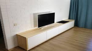 <b>Тумба для телевизора</b> из дерева своими руками как сделать TV ...
