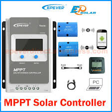 Tracer 4210AN <b>40A MPPT Solar Charge</b> Controller 12V 24V LCD ...
