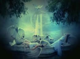 living room sukoley deviantart  angels paradise by motherearth dbbat