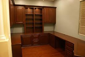 custom home office cabinets in las vegas built in home office cabinets