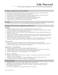 resume it examples barista resume objective examples resume hr event manager resume