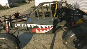 dying light shark paint job