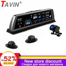 <b>TAVIN Car</b> Dvr Rearview mirror Android 4G <b>Dash</b> camera ADAS ...