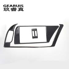 Car Styling <b>For Audi A4</b> B8 <b>A5</b> Carbon fiber Interior Navigation ...