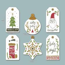New <b>10pcs Kraft Print</b> Paper Christmas Tree Decorations Tag For ...