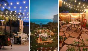 26 breathtaking yard and patio string lighting ideas will fascinate you balcony lighting ideas