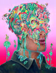 Images & Illustrations of consciousness-altering drug