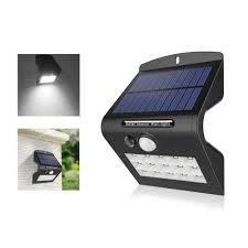 PIR Sensor LED Lawn Lamp <b>Solar Energy Wall Light</b> Motion Sensor ...