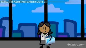 duties of an executive assistant