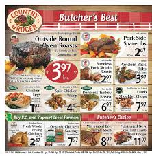 flyer country grocer map