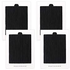 4 Pack <b>Carbon</b>-<b>Activated air</b> Filter <b>Refrigerator Air</b> Filter ...