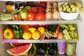 Cách sắp xếp đồ trong tủ lạnh gọn gàng