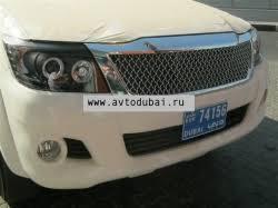 Тюнинг Toyota Hilux (vigo) 2011- <b>new решетка радиаторная</b> хром ...