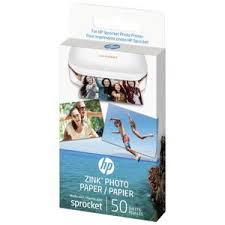 <b>HP ZINK Sticky Backed Photo</b> Paper 50 Pack | Officeworks