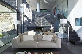 5 contemporary cream sofa brick living room furniture