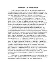 how i spent my holidays school essayhow i spent my school holiday essay   essay topics vacation words essay on how