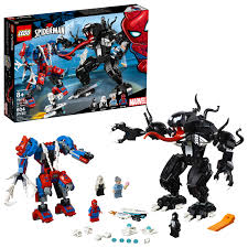 <b>LEGO Super Heroes Marvel</b> Spider Mech Vs. Venom <b>76115</b> ...