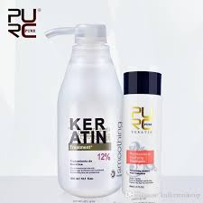 <b>PURC</b> HAIR CARE Brazilian Keratin 12%<b>8</b>%5% <b>Formalin 300ml</b> ...