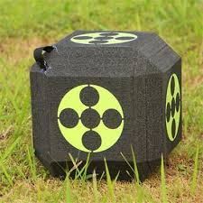 Block Foam Dice <b>Archery</b> Target for Compound & <b>Recurve Bow</b> ...