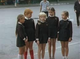 <b>school girls</b> in uniforms & braids. thecharminginnocence   American ...