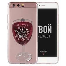 «Аксессуар <b>Чехол Huawei</b> P10 Plus With Love. Moscow <b>Silicone</b> ...