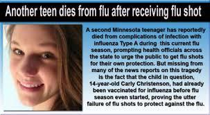 Image result for flu vaccine lie